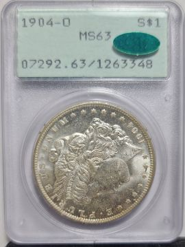 1904 O 1 PCGS MS63 CAC Rattler