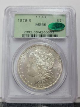 1879 S $1 PCGS MS66  CAC 4260303