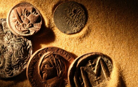 """Excerpts from American Treasures """"Money is the most fundamental object there is in an organized society"""""""